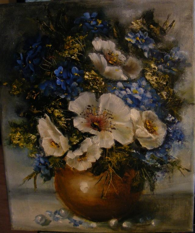Picturi cu flori Inspiratie