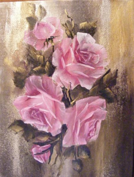 Picturi cu flori Roze