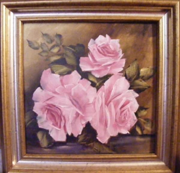 Picturi cu flori Roze ii