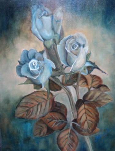 Picturi cu flori Blue rose