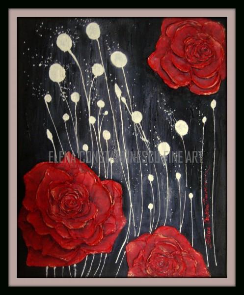 Picturi cu flori Praf de stele