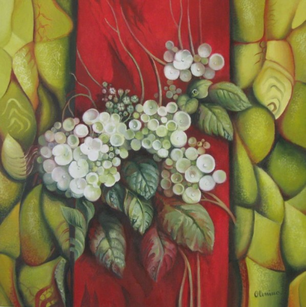 Picturi cu flori Contrast