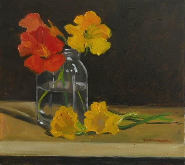Picturi cu flori Condurasi in borcan
