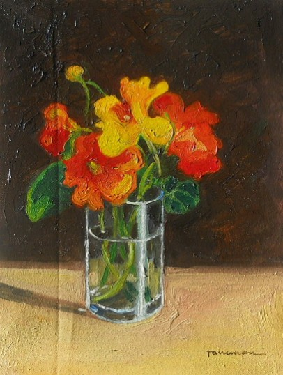 Picturi cu flori Condurasi in pahar