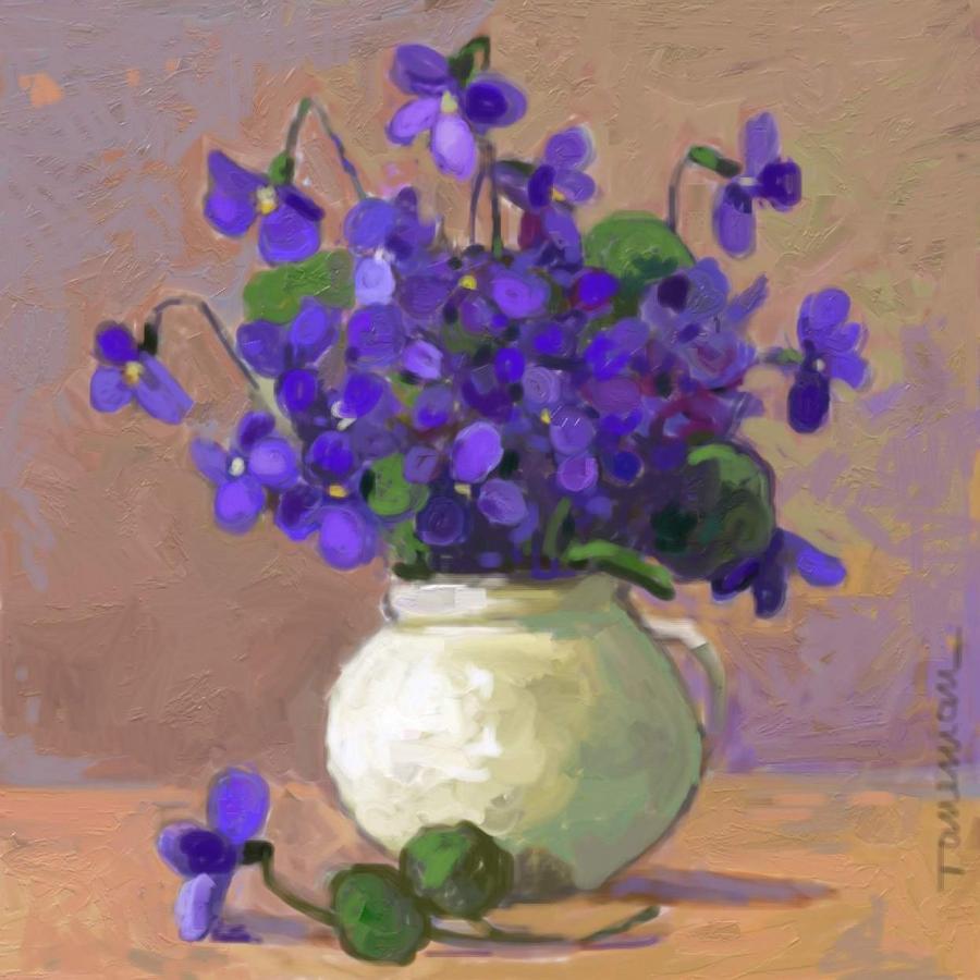 Picturi cu flori toporasi , 3