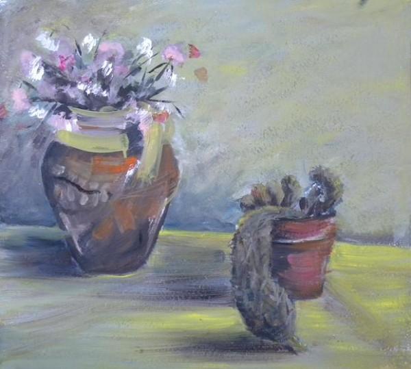 Picturi cu flori Studiu doi