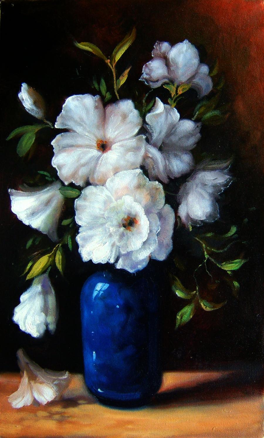 Picturi cu flori flori 40