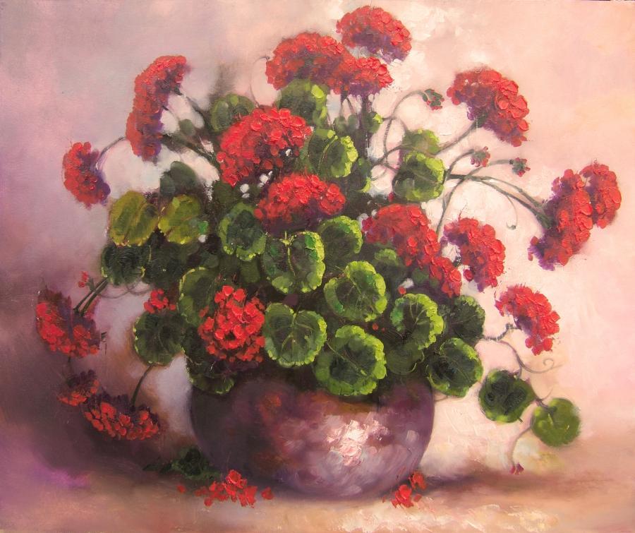 Picturi cu flori muscate 2