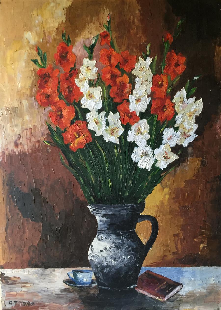 Picturi cu flori Gladiole_