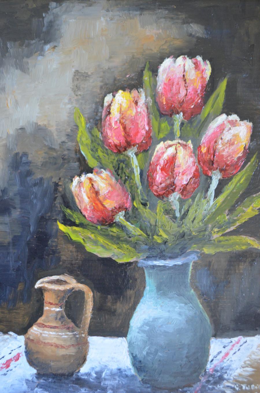 Picturi cu flori Lalele_