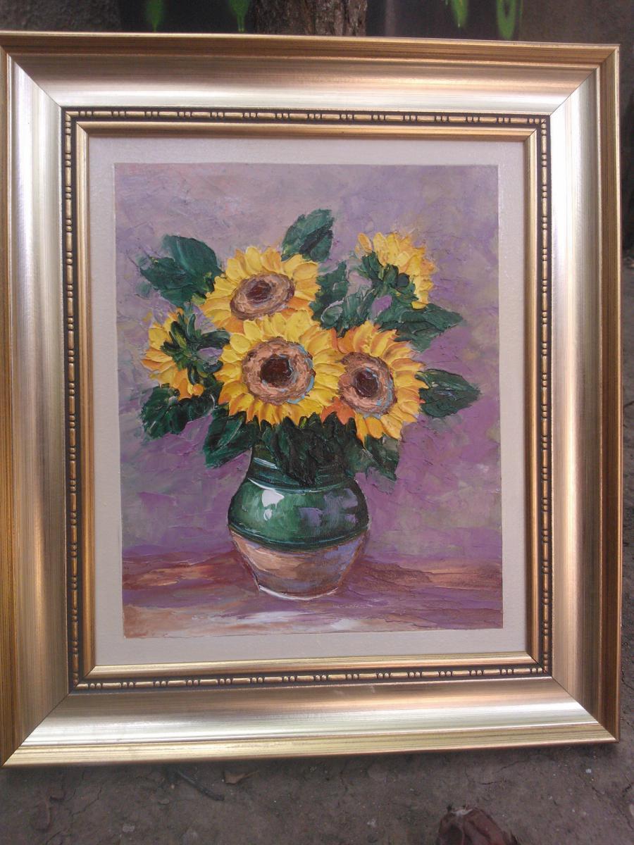 Picturi cu flori floarea soarelui 26662