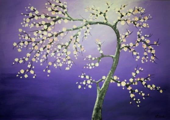Picturi cu flori Tree in spring