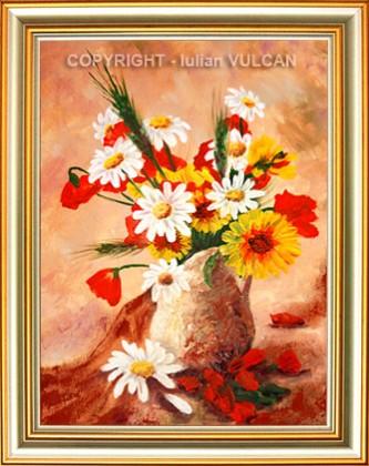 Picturi cu flori De pe campuri adunate