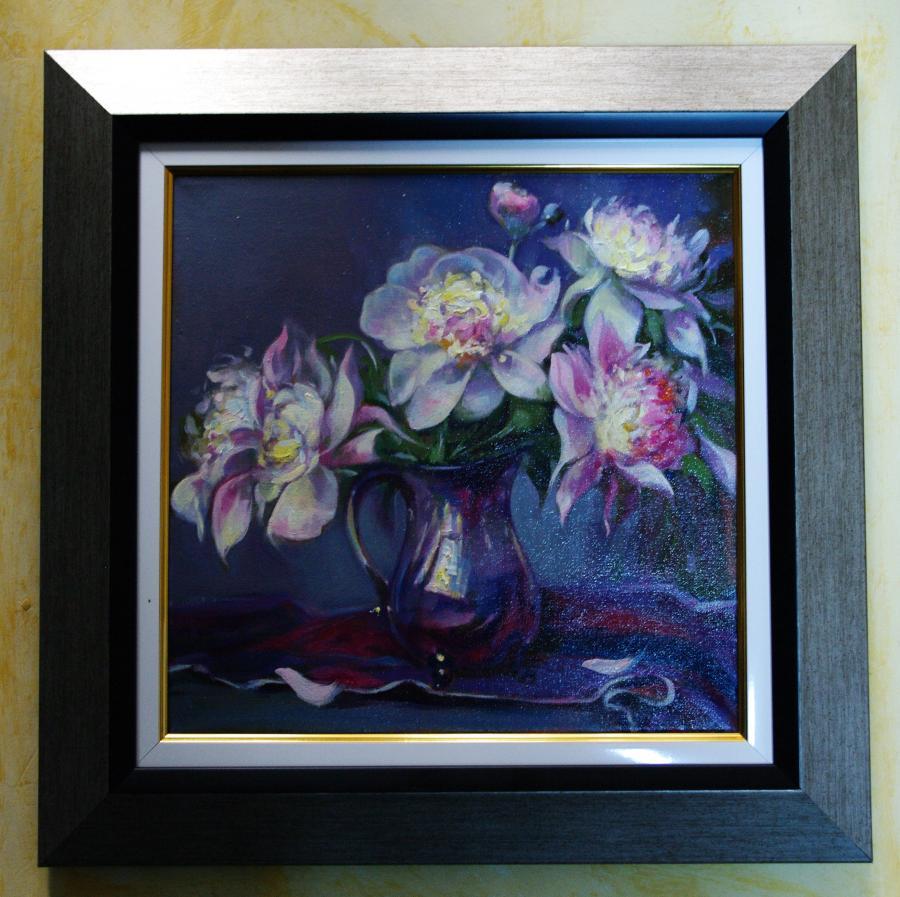 Picturi cu flori bujori 01