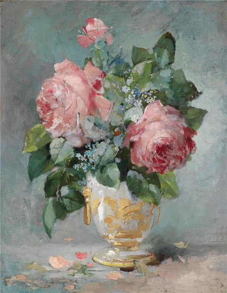 Picturi cu flori Trandafiri 4