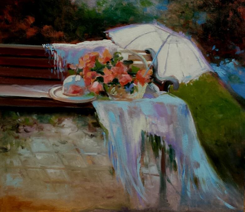Picturi cu flori vara