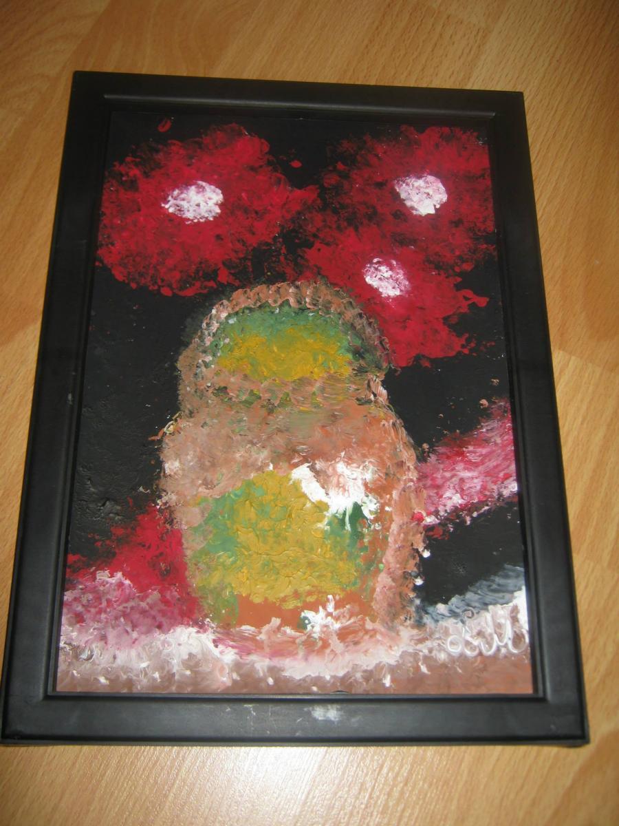 Picturi cu flori  flori