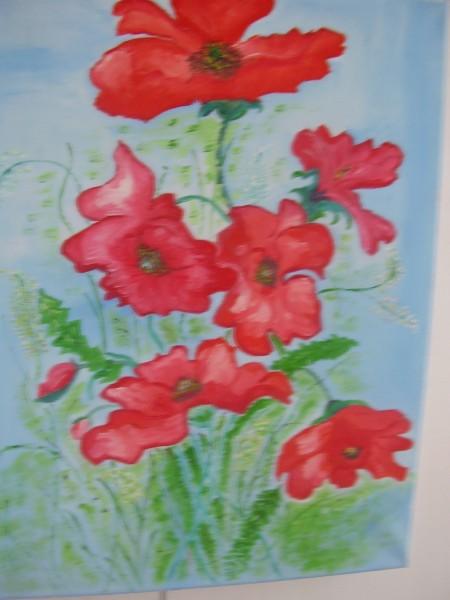 Picturi cu flori Amapola