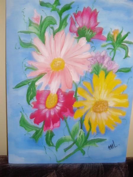 Picturi cu flori Buchet de flori