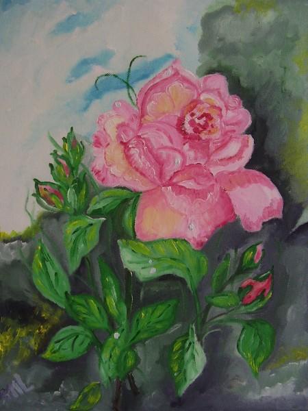 Picturi cu flori De martisor