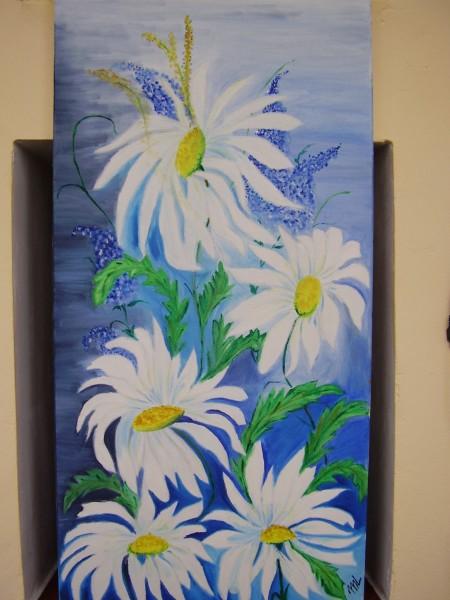 Picturi cu flori Gingasie