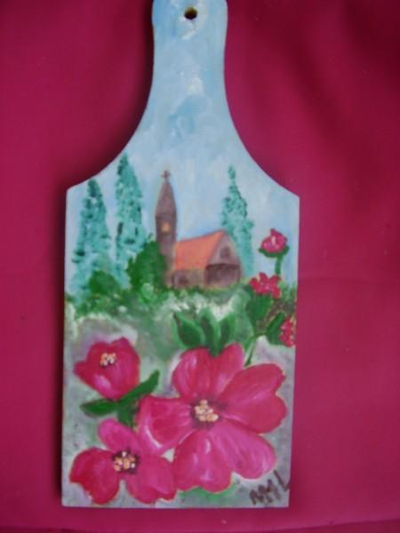 Picturi cu flori In toiul verii