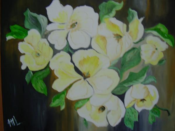 Picturi cu flori Ramura parfumata