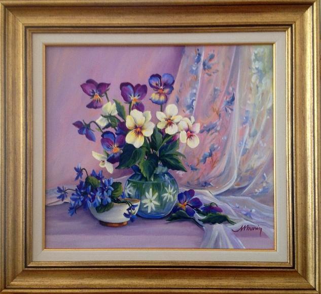Picturi cu flori Buchete cu primavara