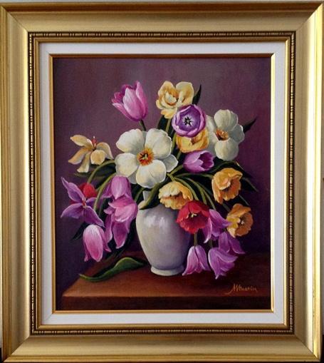 Picturi cu flori Lalele .