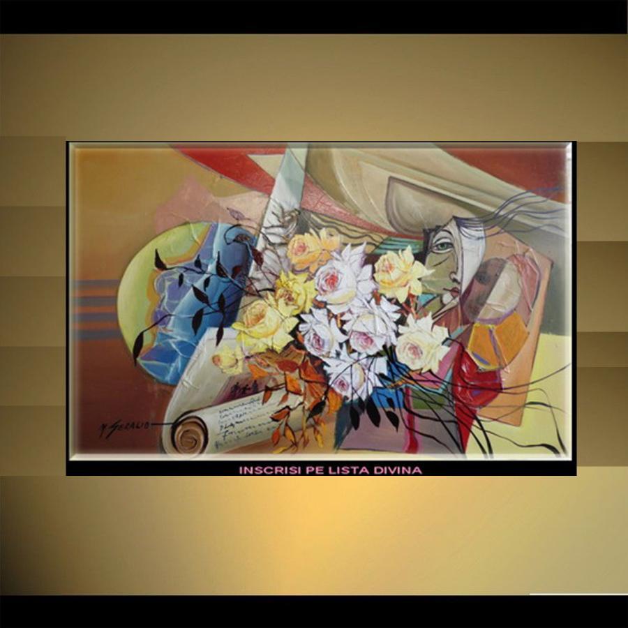 Picturi cu flori flori--b099