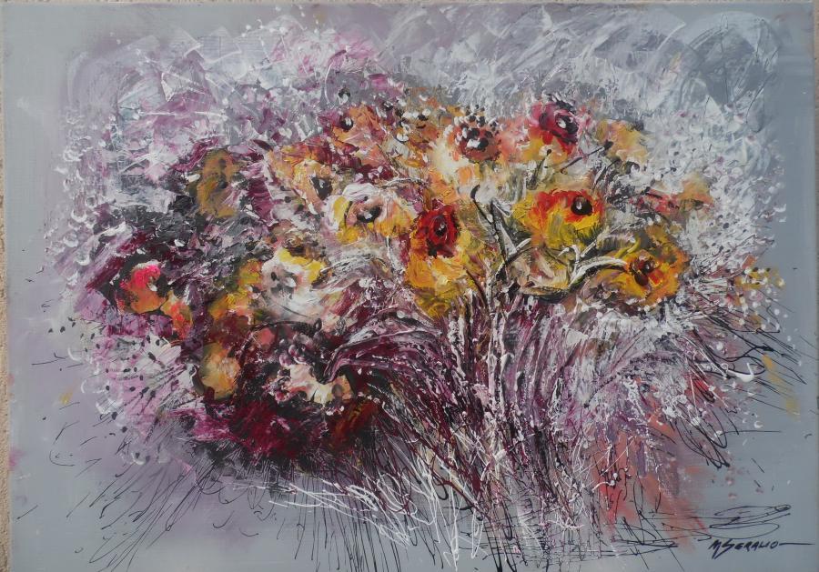 Picturi cu flori flori de camp---9as