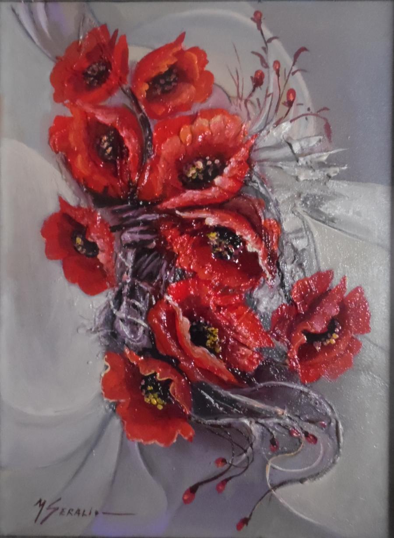 Picturi cu flori flori  v002