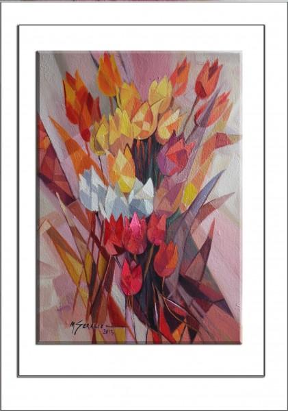 Picturi cu flori Lalele --t6