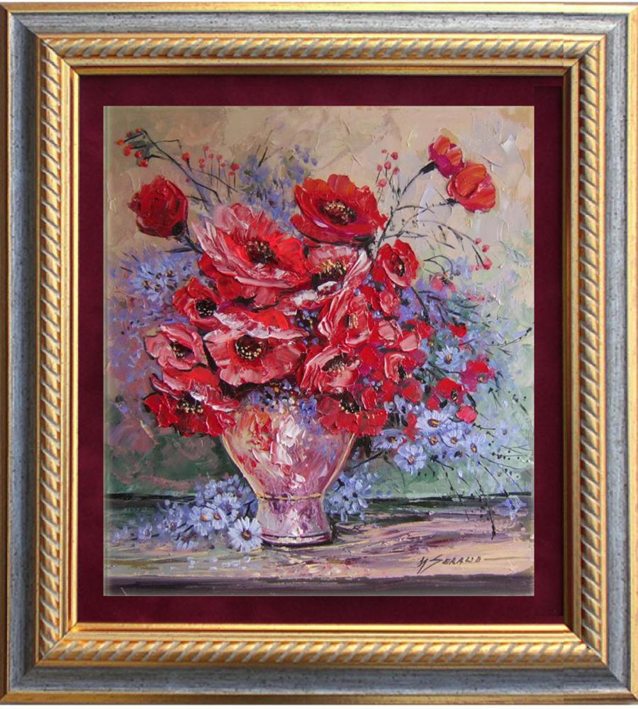 Picturi cu flori maci in vaza-77d1