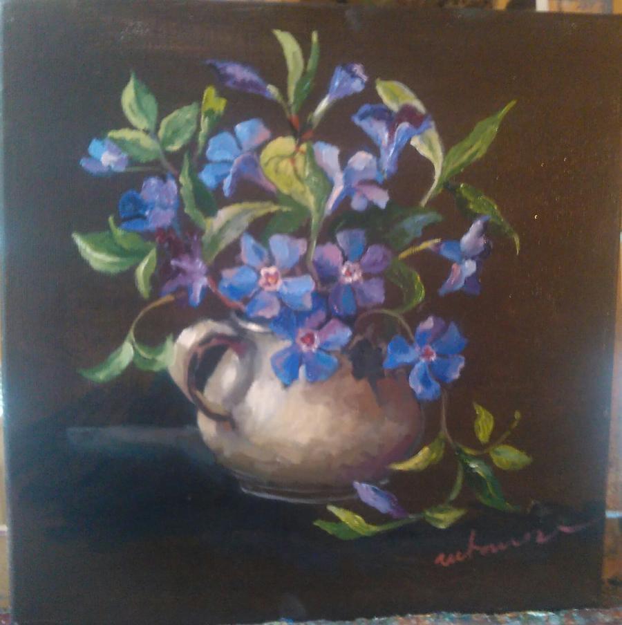 Picturi cu flori Florile Annei 2