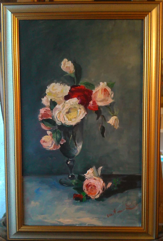 Picturi cu flori Paharul cu miresme