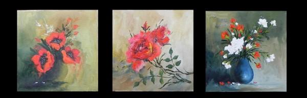 Picturi cu flori Flori mici