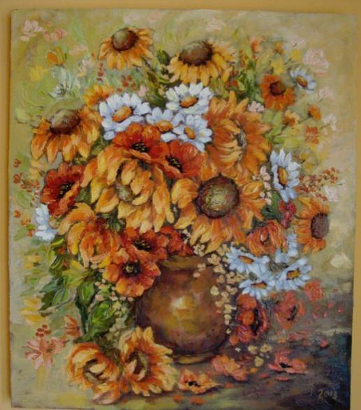 Picturi cu flori Cred ca te-am uitat!