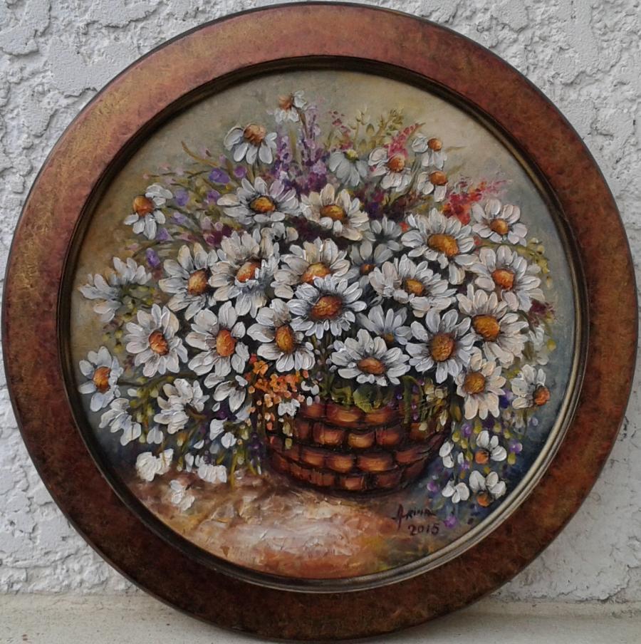 Picturi cu flori Uitare...sau o clipa regasita