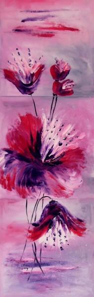 Picturi cu flori Flori lumina serii