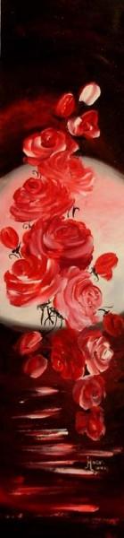 Picturi cu flori Parfum de trandafiri
