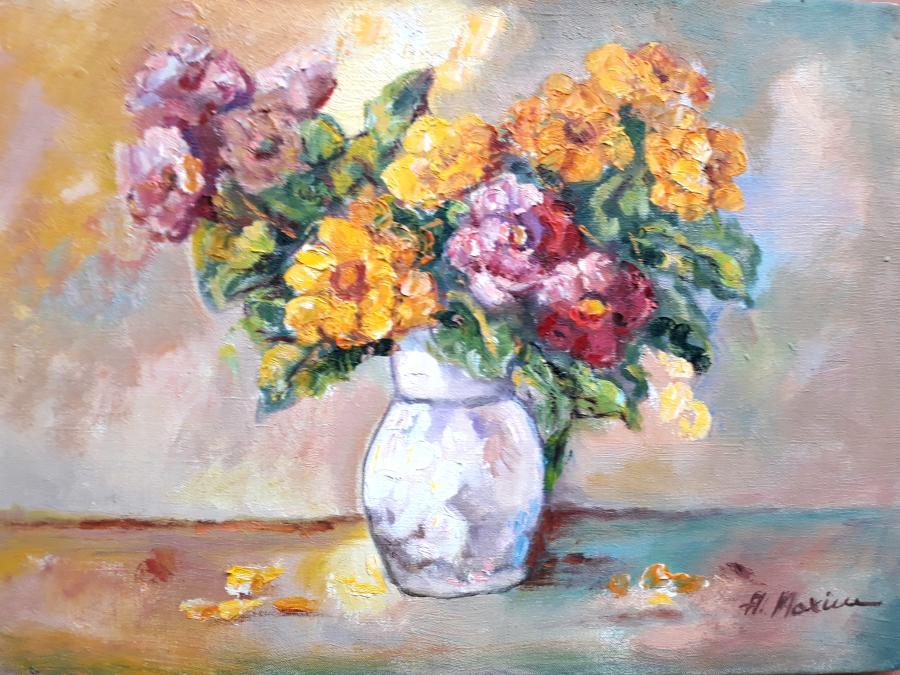 Picturi cu flori Dalii2