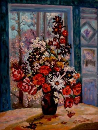 Picturi cu flori Florile primaverii01