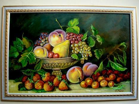 Picturi cu flori Fructe 04