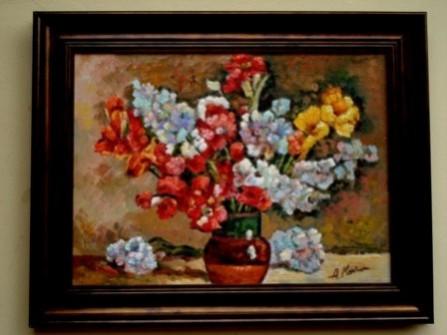 Picturi cu flori Tablou compozitie florala