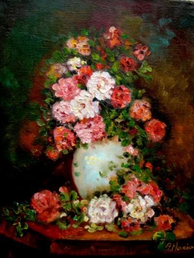 Picturi cu flori Tablou flori de gradina 09