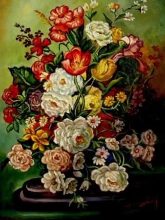 Picturi cu flori Tablou flori olandeze