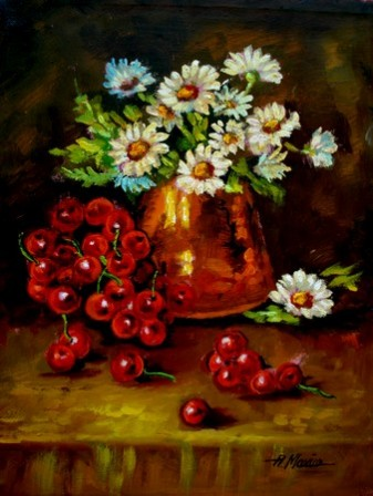 Picturi cu flori Tablou margarete
