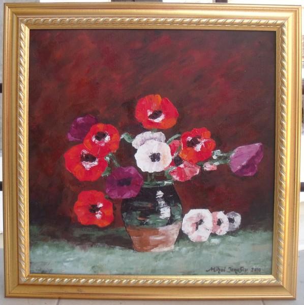 Picturi cu flori Anemonelele lui luchian
