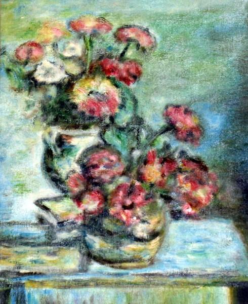 Picturi cu flori Flori rosii